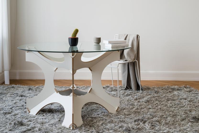 Tisch cube by jaanus orgusaar nordic design jaanus for Tisch nordic design